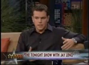 Matt Damon stops smoking with hypnosis